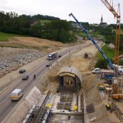 High economic feasibility and flexibility due to tunnel modular construction system