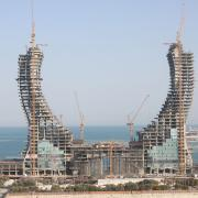 Photo: Katara Towers_1.jpg <br /> Copyright: HBK Contracting Company <br />