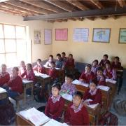 In the Himalaya the first free secondary school in the region is being established with the support of the Umdasch Foundation.