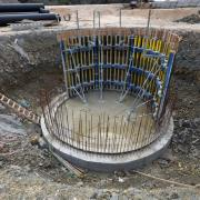 With the versatile and easy-to-use Circular formwork H20 system, even tanks with very small radii were formed highly efficiently.