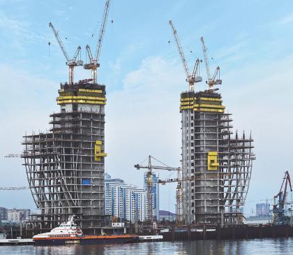 High Rise construction - Doka