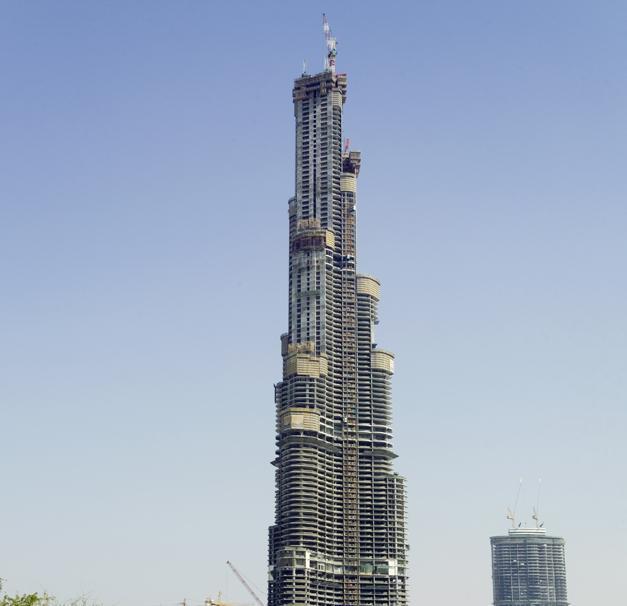 Burj Khalifa - Doka