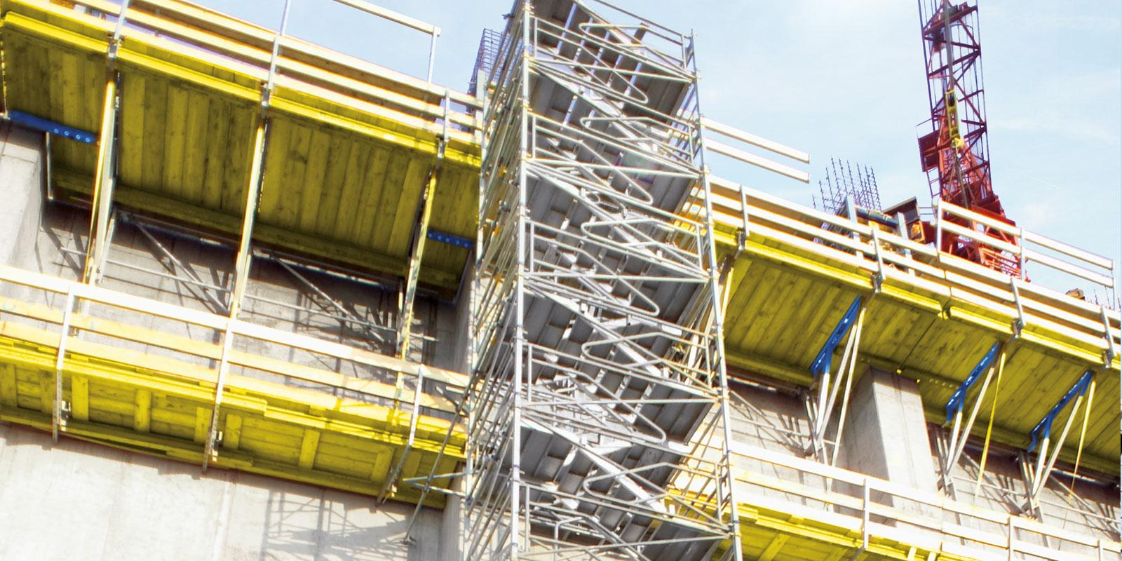 Stair tower 250 doka for Stair tower