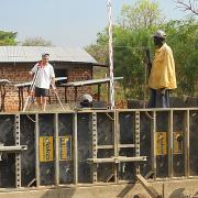 In South Sudan Doka is supporting the construction of an agricultural college with Doka formwork systems.