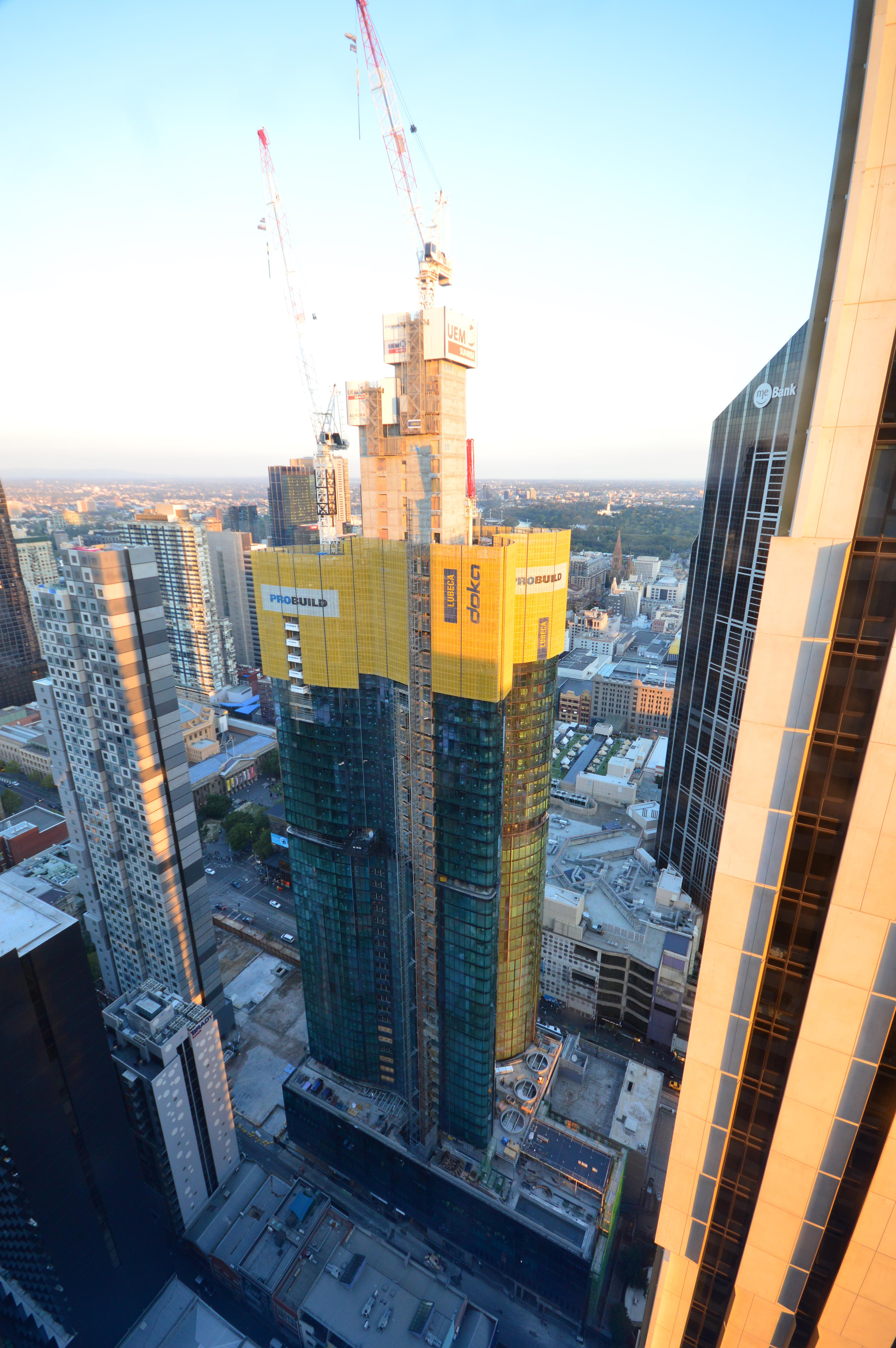 High rise construction takes on new dimensions - Doka