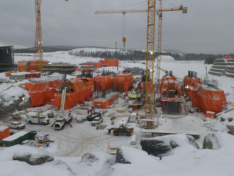 Doka Formwork At Hydroelectric Plant In Icy North Doka