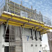 Doka's Xclimb 60 system in use