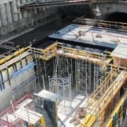 Even architectural demands such as with the Metro expansion in Algeria are realised quickly and safely with high-performing Doka products. Photo: Doka