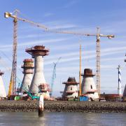 Doka systems are used for foundations as well as towers during construction of wind mills, such as the offshore wind farm Thornton Bank in Belgium.