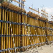 Large area formwork Top 50 is flexible enough to take any shape and is strong <br /> enough to cast up to 12m heights