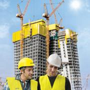 Safety down to the last detail: From the planning phase right through until completion, Doka is a top-calibre partner on all safety issues.