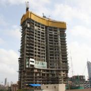 Under construction in India's business capital Mumbai and due for completion by March 2013 is Ahuja Towers, a 240 m twin tower whose shape is inspired by the sails of the boats off the coast.
