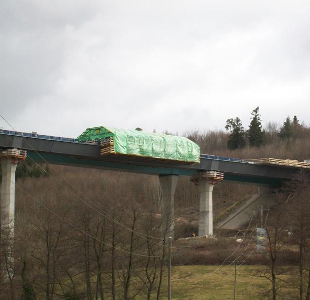 Concrete Superstructure: Dultenaugraben Viaduct