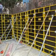 Frami eco is an ideal solution for fast, cost-effective forming of columns, shear wall, foundation and retaining walls