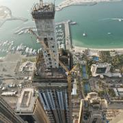Doka's versatile  Large-area formwork Top 50 system offered maximum flexiblity to the building contractors, providing a safe, fast and efficient solution to cope with the changing geometries of Dubai's 91 storey Elite Tower.