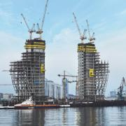 La Luna's unique shape calls for individual formwork solutions by Doka. Photocredit: Doka GmbH