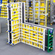 <br /> DokaXlight, the featherweight framed formwork made of aluminium was one of the product highlights inside the world of Doka formwork. <br />  <br /> Photo: DokaXlight <br /> Copyright: Doka <br />