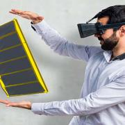With the Doka AR-VR app, customers can experience selected Doka solutions in augmented and virtual reality. <br />  <br /> Photo: Doka AR-VR-App.jpg <br /> Copyright: Doka