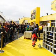 As was the case at bauma 2016, this year the live product demonstrations with the current world champions in concrete construction and the runners-up (WorldSkills 2017) were among the special highlights. In this year's presentations, the DokaXlight formwork system came into play. <br />  <br /> Photo: Doka Campus_2.jpg <br /> Copyright: Doka <br />