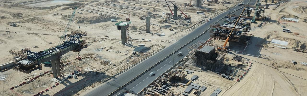 RA217 Nawaseeb Road - Doka delivers an all-in solution for a major infrastructure project