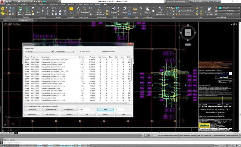 Screenshot DokaCAD for AutoCAD 9