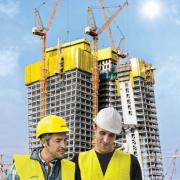 Safety down to the last detail: From the planning phase right through until completion, Doka is a top-calibre partner on all safety issues. Photo: Doka