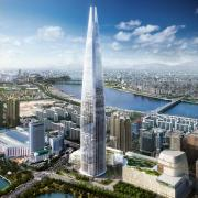 Vizualizace Lotte Tower
