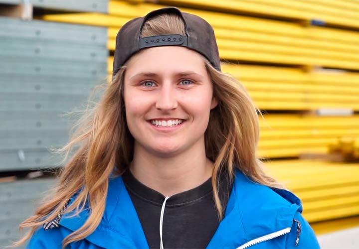 Niki Runnalls, Forklift Operator