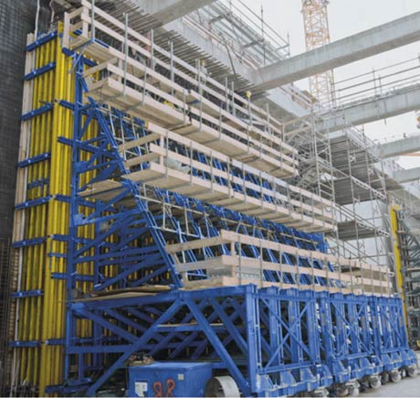 single-sided formwork