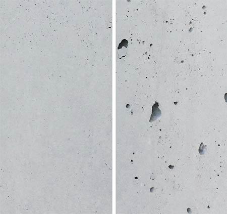 comparison concrete surfaces