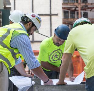 Doka workers at work